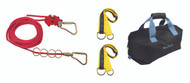 Falltech 777030 4-User Temporary Horizontal Lifeline System