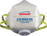 Gerson 2140W N95 Smart-Mask Particulate Respirator w/ Valve with Gerson Category number 082140W. Shop now!