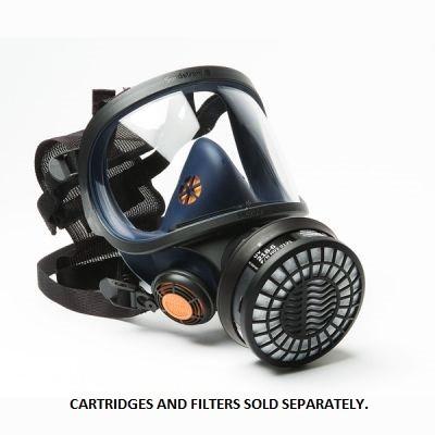 Sundstrom Sr200 Full Face Respirator Mask Polycarbonate Visor