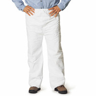DuPont TY350S WH Tyvek Pants w/ Open Ankles & Elastic Waist . Shop now!