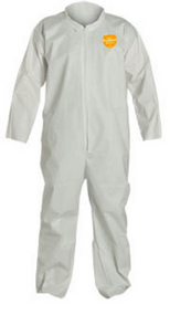 DuPont NG120S ProShield NexGen White Coveralls w/ Collar with Open Wrists and ankles. Shop now!