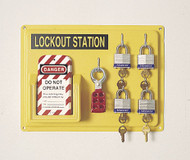 North Safety LSE104F 4 Complete Units Lockout Station. Shop now!