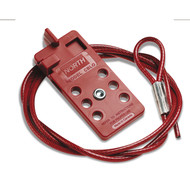 North Safety CBLOK06R Cable Lockout Device. Shop now!