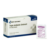 First Aid Only G460 Triple Antibiotic Ointment, 25/Box. Shop Now!