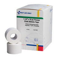 "First Aid Only J642 1.5""x 10yd Cloth Athletic First Aid Tape, 16/Box. Shop Now!"