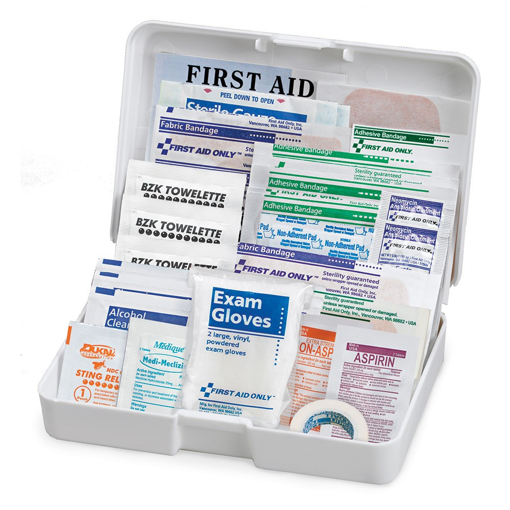 First Aid Only FAO-320 Vehicle First Aid Kit, 41 Piece, Plastic Case