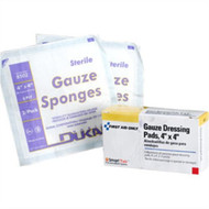 """First Aid Only B207 4""""X 4"""" Sterile Gauze Pads, 4 Per Box. Shop now!"""