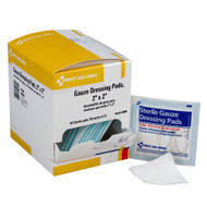 """First Aid Only H209 2""""x2"""" Sterile Gauze Pads, 50/box. Shop now!"""