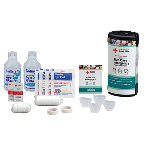 First Aid Only RC-684 Deluxe Eye Care Emergency Responder Pack. Shop Now!