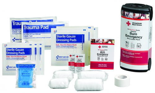First Aid Only RC-649 Deluxe Burn Emergency Responder Pack. Shop now!