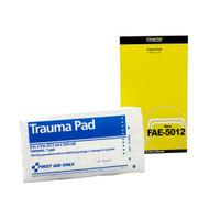 "First Aid Only FAE-5012 SC Refill 5""x9"" Trauma Pad, 1/bag. Shop Now!"