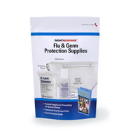 First Aid Only  KIT 2 Zip-N-Go Flu & Germ Protection