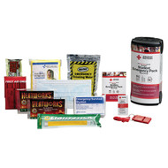 First Aid Only RC-608 Deluxe Student Emergency Pack Plus Food.  Shop Now!