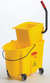 Rubbermaid 7580 WaveBreak Bucket Wringer Combo. Shop Now!