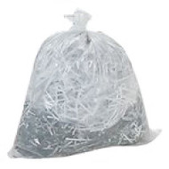 Can Liner 24 X 24 Clear Trash Liners 6 Micron High Density