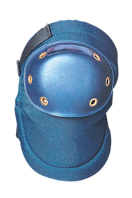 OK 125 Value Contoured Hard Cap Knee Pad with EVA foam padding and PE plastic hard cap available in Blue Color. Shop now!
