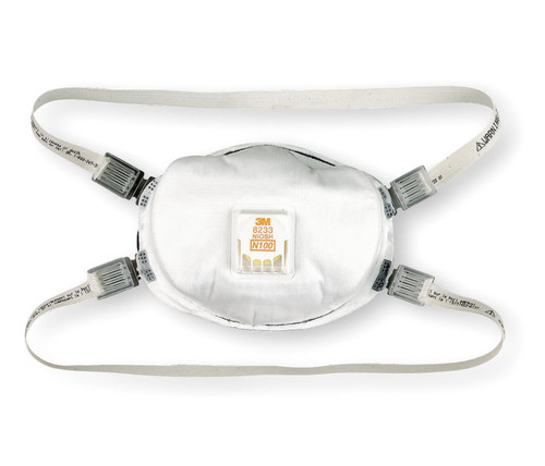 3M 8233 N100 Particulate Respirator. Shop now!