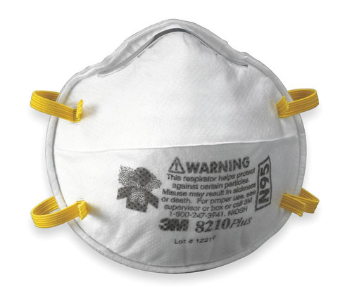 3M 8210P N95 Plus Particulate Respirator. Shop now!