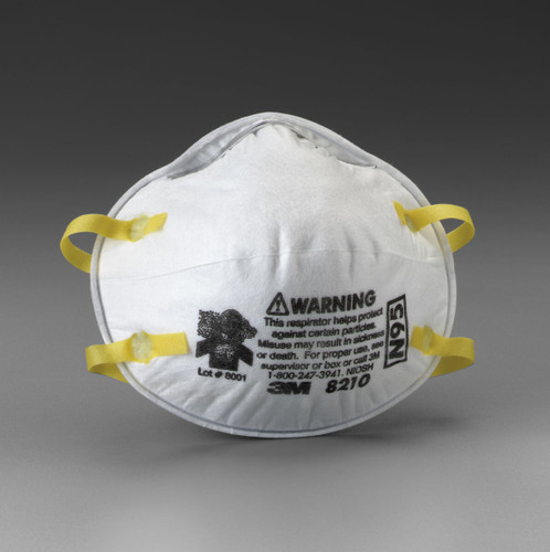 3M 8210 N95 Particulate Respirator. Shop now!