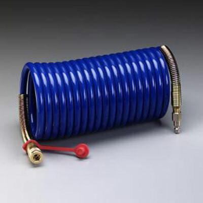3M W-2929 Supplied Air Hose Coiled available in Blue Color available in 25, 50 and 100 Ft. long. Shop now!