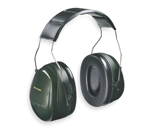 3M H7A Peltor Optime 101 Over the Head Earmuffs NRR 27 available in Green/Black Color with Item number H7A. Shop Now!