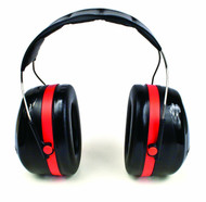 3M H10A Peltor Optime 105 Over the Head Earmuffs NRR 30 available in Black/Red Color with Item number H10A. Shop Now!