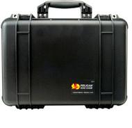 Pelican 1500 Medium Protector Case with foam in Black color. Shop now!