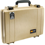Pelican 1470NF Computer Laptop Protector Case with foam in Tan. Shop now!