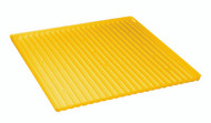 """Eagle 29054 Polyethylene Tray/Sump Combination For 60 Gallon (34""""W) Safety Cabinet, Yellow. Shop Now!"""
