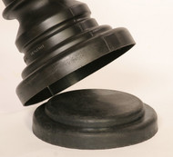 Buy Eagle 1718BASE Molded Rubber Base for Armorkraft Decorative Post Sleeve today and SAVE up to 25%.