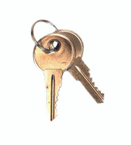 Eagle 25998 Replacement Keys For Safety Cabinet Paddle Handle, Set Of 2 For Lock No. CH545. Sold Now!