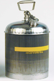 Buy Eagle 1315 5 Gal Type I Stainless Steel Safety Can today and SAVE up to 25%.