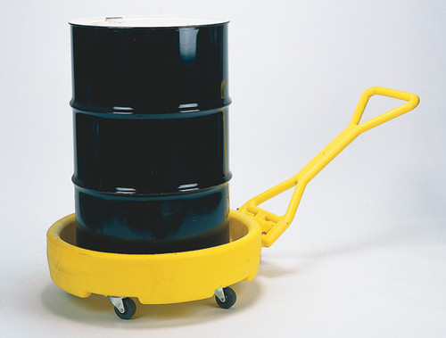 Buy Eagle 1613 Durable Drum Bogie - Yellow Polyethylene today and SAVE up to 25%.
