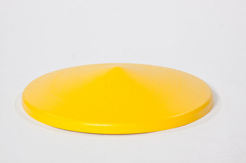 Buy Eagle 1664 Drum Funnel Cover-Yellow High Density Polyethylene today and SAVE up to 25%.