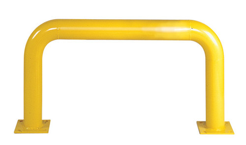 """Buy Eagle 1170 Steel Machine Guard 4"""" Low (24""""H x 48""""D) - Yellow today and SAVE up to 25%."""