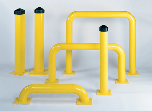 Buy Eagle 1173 4 In Yellow (16 In H x 48 In W) Rack Guard Steel today and SAVE up to 25%.