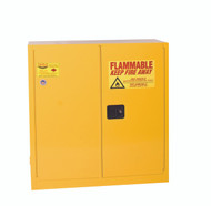 Buy Eagle 3010X Flammable Liquid Safety Cabinet, 30 Gal., 1 Shelf, 2 Door, Self Close, Yellow today and SAVE up to 25%.