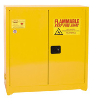 Buy Eagle YPI30X Paint & Ink Safety Cabinet 40 Gal Self Sliding Close today and SAVE up to 25%.