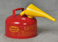 Buy Eagle UI-20-FS 2 Gal Red Type I Safety Can w/ F-15 Funnel today and SAVE up to 25%.
