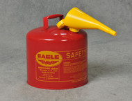 Buy Eagle UI-50-FS 5 Gal Red Type I Safety Can w/ F-15 Funnel today and SAVE up to 25%.