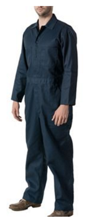 135bd6e5395e4 Walls 63070 Navy Non-Insulated Coverall. Shop now! See 1 more picture