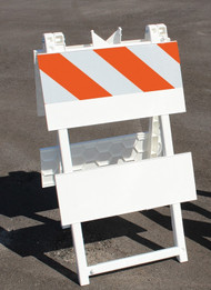 Accuform FBA101 Type I Plastic Panel Barricades. Shop now!