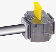 Accuform KDD462 1/4 Inch Line Pneumatic Valve Lockouts. Shop now!