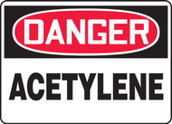 Accuform MCHL174 Danger Acetylene Safety Sign. Shop now!