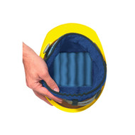Occunomix 919 Miracool Terry Hard Hat Liner with Terry Cloth Sweatband available in Navy Color. Shop now!