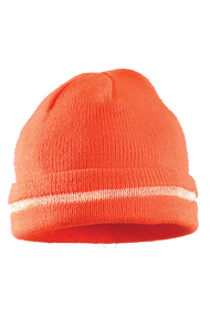ON LUX-KCR Hi Viz Knit Cap available in Orange Color. Shop now!