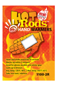 Occunomix 1100 Hot Rods Hand Warmers available in 5 Pairs Per Pack. Shop now!