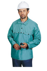 Steel Grip GS8945-19JC FR Treated Cotton Cape Sleeve w/ 19 Inch Bib. Shop now!