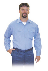 Steel Grip MBU7 9575 Medium Blue Westex Ultra Soft Button Front Shirt. Shop now!
