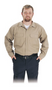Steel Grip KU79575 Khaki Westex UltraSoft Button Front Shirt. Shop now!